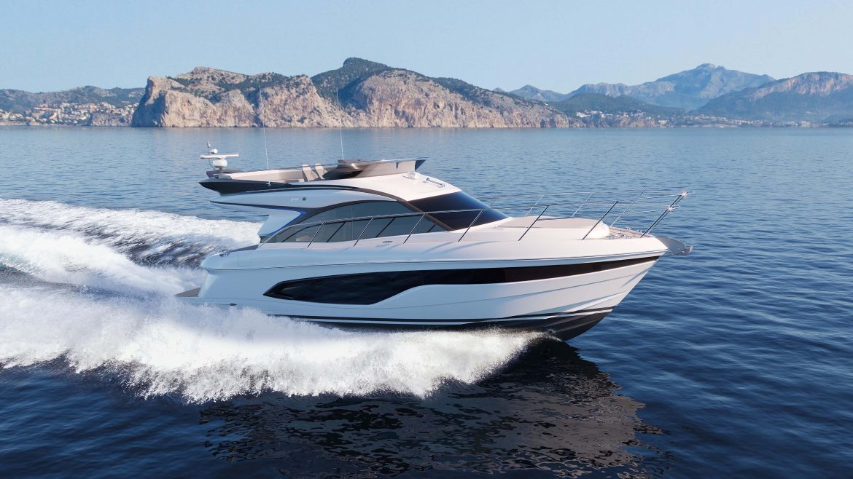Новая инновационная яхта Princess F45