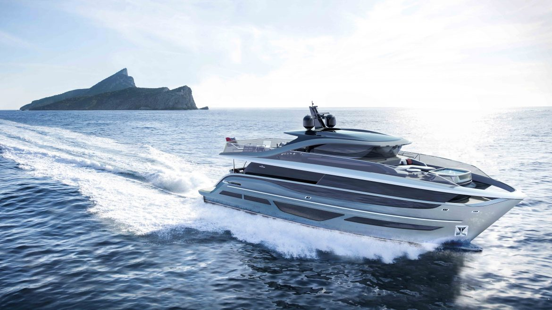 Princess Yachts представила первую яхту с гибридным корпусом