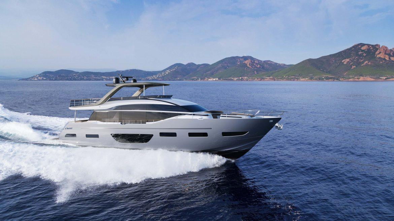 Princess Y85 — новая флагманская модель флайбриджной линейки Princess Yachts
