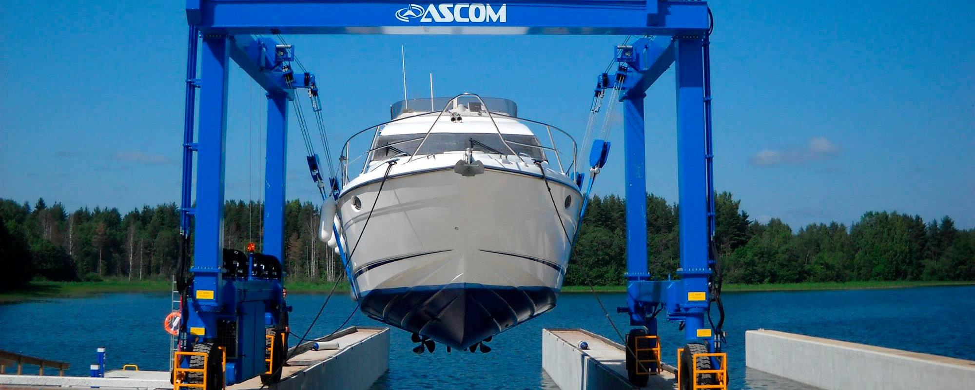 Зимнее хранение яхт
