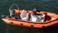 """Лодка """"SRMN 500"""", черная"""
